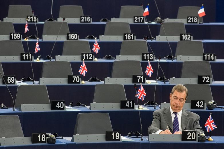Nigel Farage, l'un des principaux artisans du Brexit, aura été député européen de 1999 à 2020. D'abord sous la bannière du Ukip, puis sous celle du Parti du Brexit qu'il a créé - Crédits : European Commission