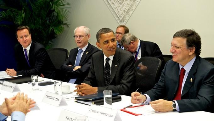 Obama et Barroso