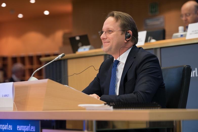 Le candidat hongrois à la Commission européenne Olivér Várhelyi n'avait pas convaincu les eurodéputés lors de son audition le 14 novembre - Crédits : Gabor Kovacs /  Flickr European Parliament CC-BY-4.0