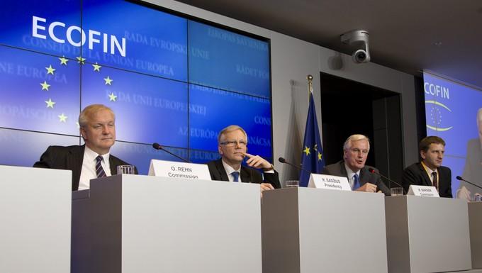Olli Rehn Ecofin