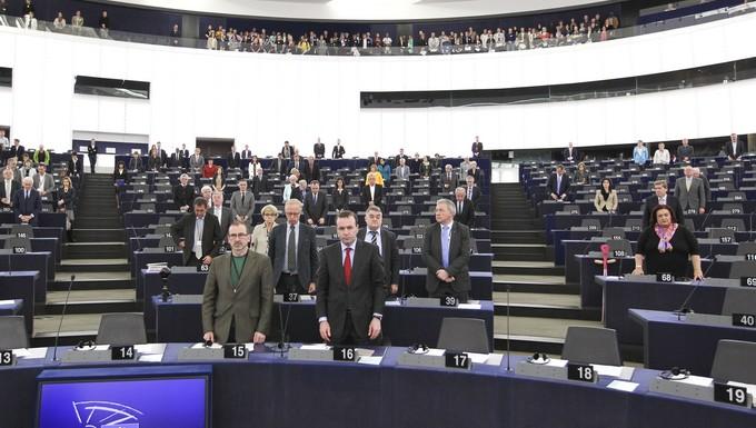 Session plénière du PE 14 au 17 avril 2014