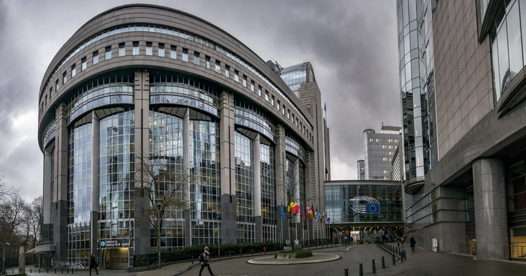 Bâtiment du Parlement européen à Bruxelles
