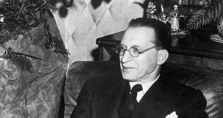Alcide de Gasperi (1953) - Crédits : Commission européenne