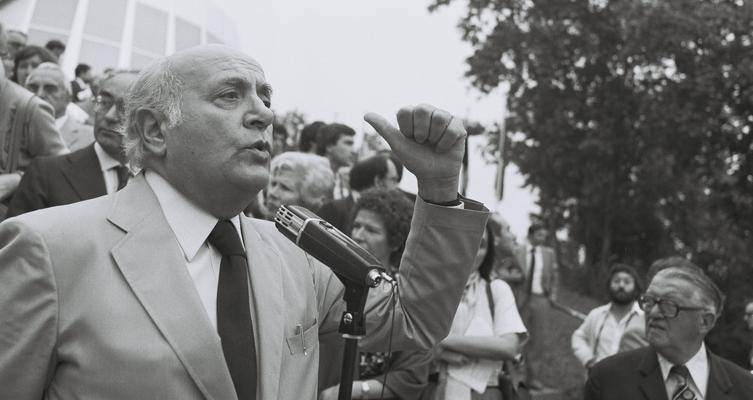 Altiero Spinelli (1979) - Crédits : Jean-Louis Debaize / Commission européenne