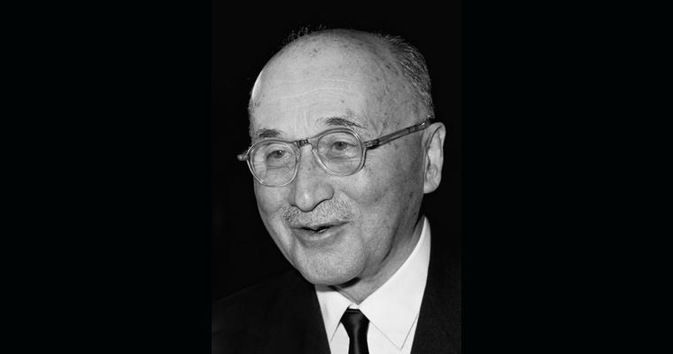 Jean Monnet (1967) - Crédits : Commission européenne