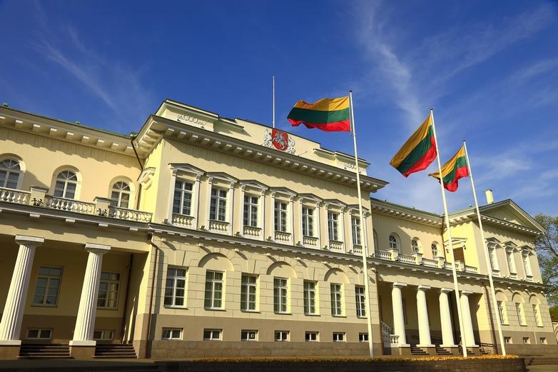 Palais présidentiel à Vilnius, en Lituanie - Crédits : agustavop / iStock