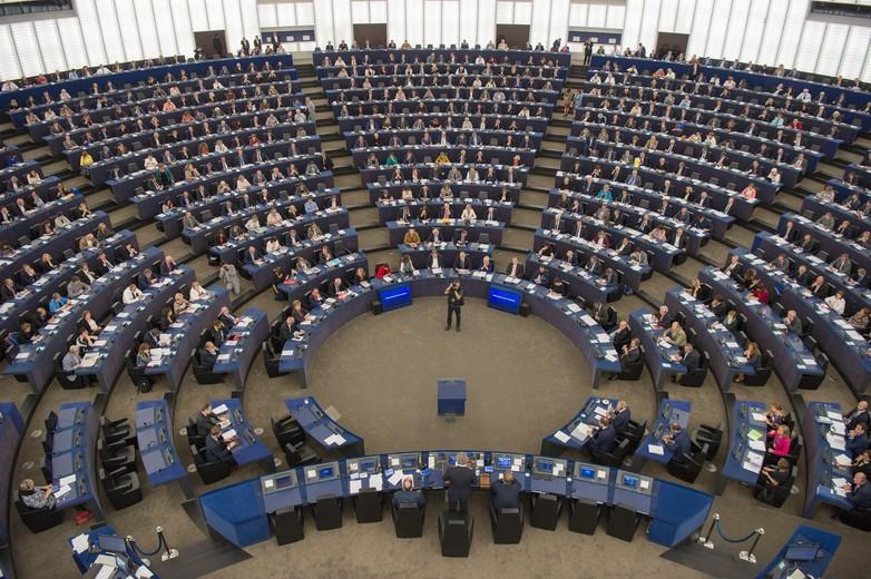 Hémicycle du Parlement européen de Strasbourg