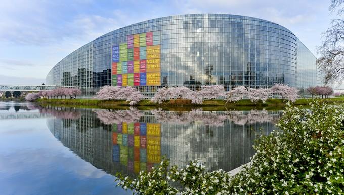 Bâtiment Louise Weiss Parlement européen Strasbourg