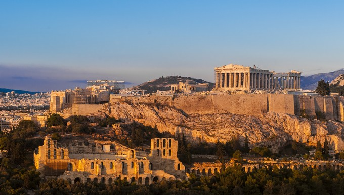 Parthénon Athènes