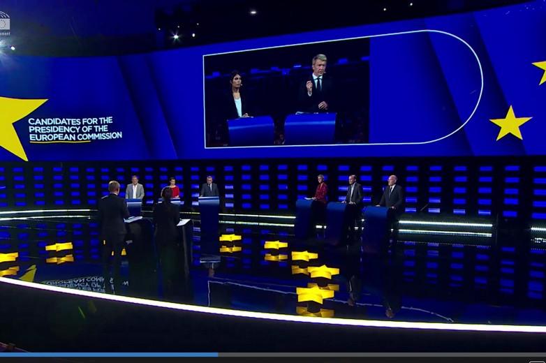 Débat entre Spitzenkandidaten à Bruxelles le 15 mai 2019