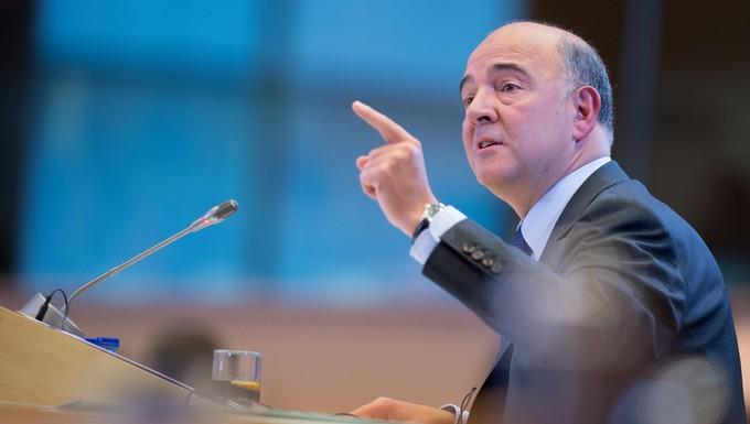 Pierre Moscovici, le 2 octobre, lors de son audition au Parlement européen