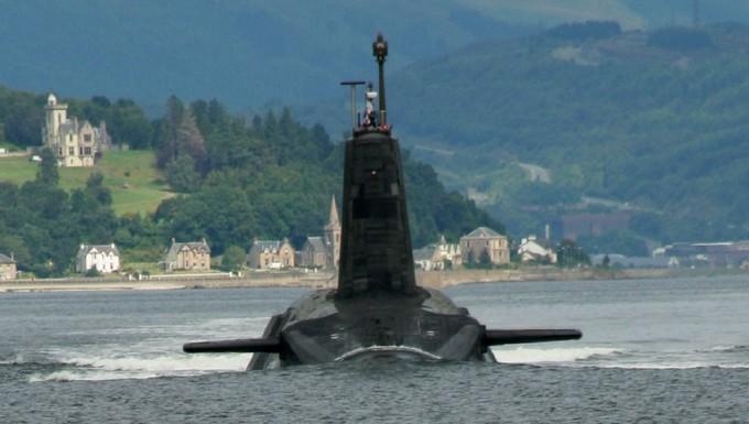 Sous-marin nucléaire britannique