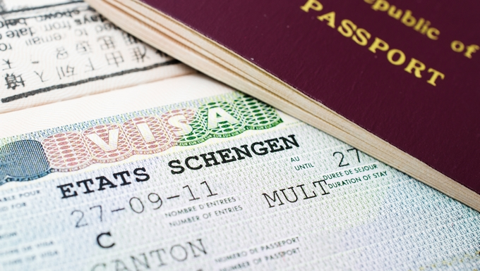 Visa Schengen UE
