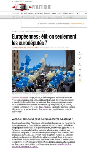 Article Liberation du 19 mai