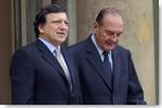 José Manuel Barroso et Jacques Chirac - © Communauté européenne, 2007
