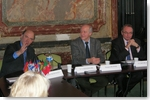 Pierre Moscovici, Jacques Rupnik, Jean-Louis Bourlanges - DR