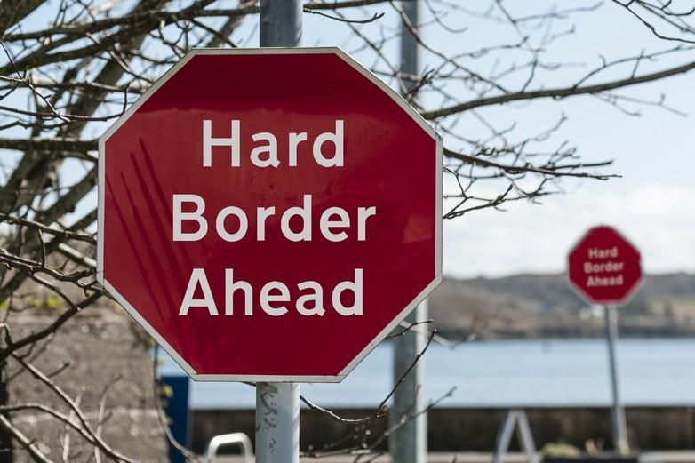 Ancienne frontière entre Irlande et Irlande du Nord