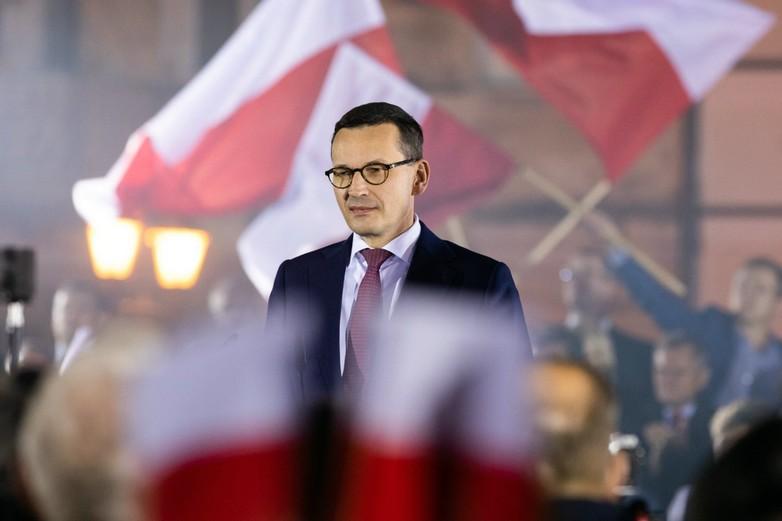 Mateusz Morawiecki, le 21 octobre au soir