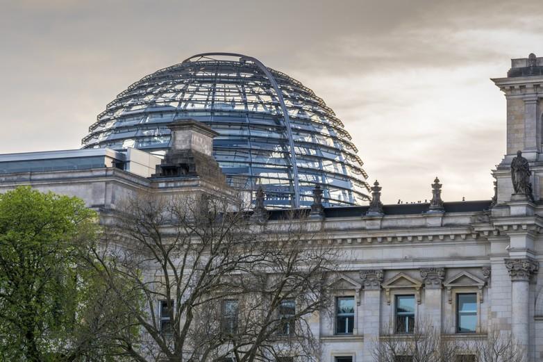 Le palais du Reichstag, qui héberge le Bundestag, parlement fédéral allemand