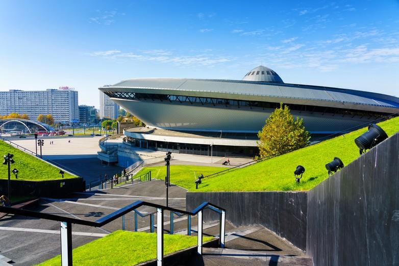 Le centre omnisports Spodek à Katowice accueille la COP24