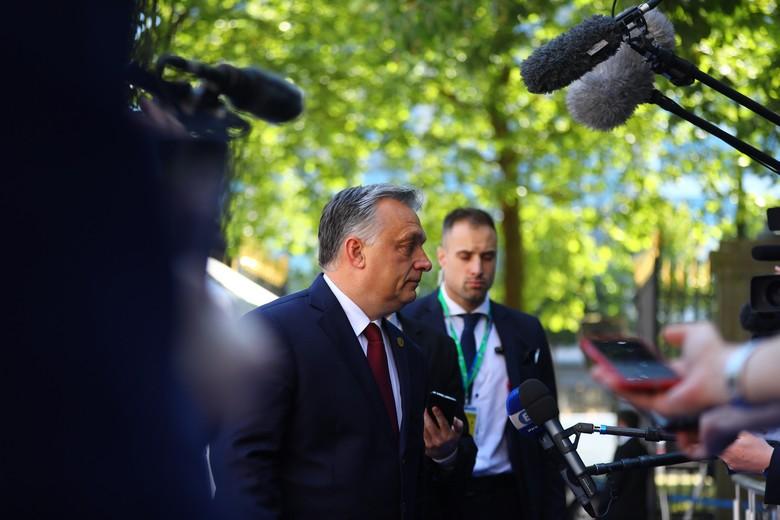 Viktor Orban à l'EPP Summit à Bruxelles, en juin 2018