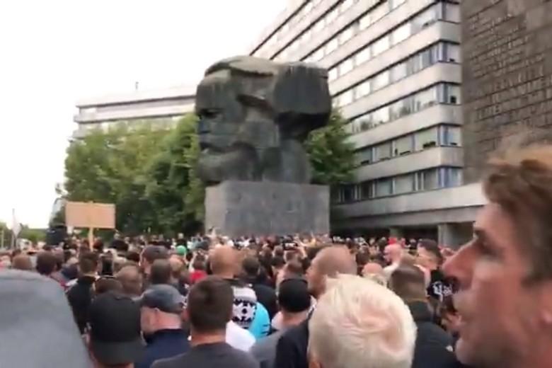 Manifestation de l'extrême droite à Chemnitz