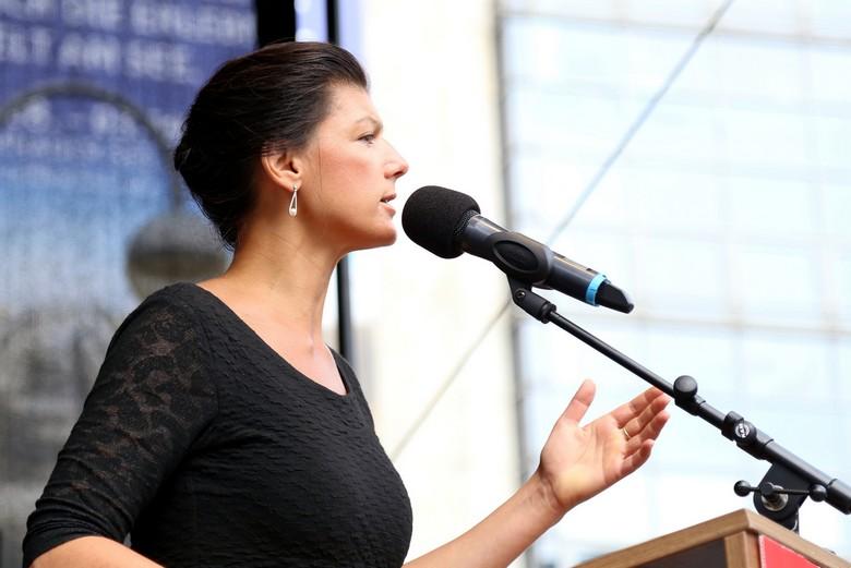 Sahra Wagenknecht en 2017