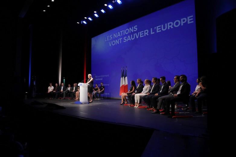 Marine Le Pen à Fréjus, dimanche 16 septembre
