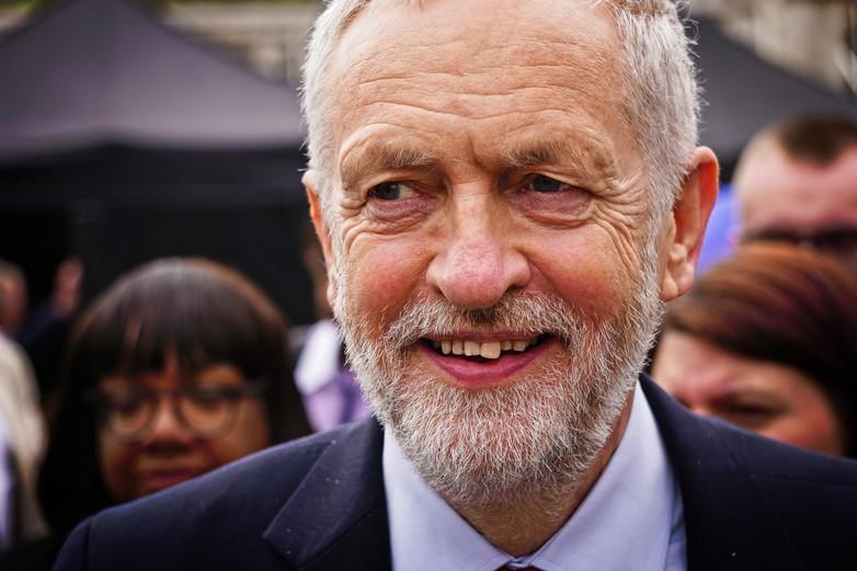 Jeremy Corbyn, avril 2018