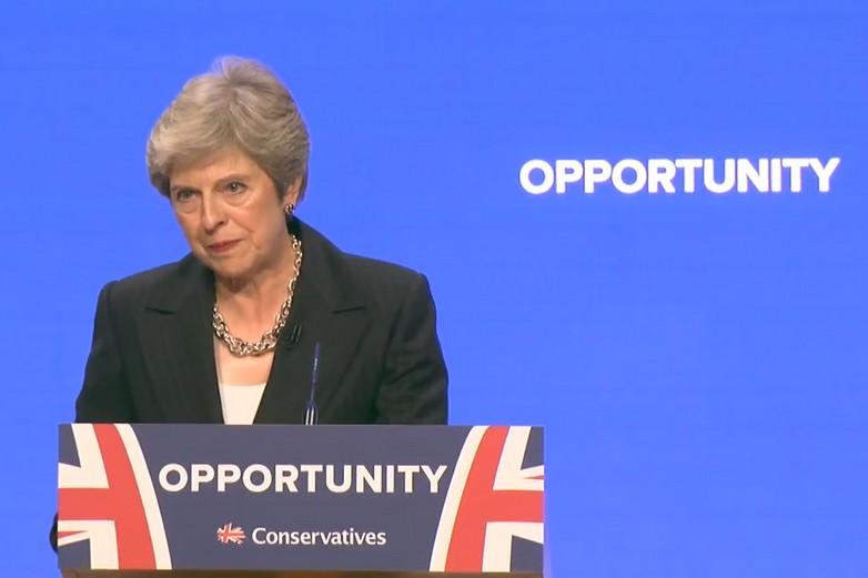 Discours de Theresa May au congrès du Parti conservateur, le 3 octobre 2018