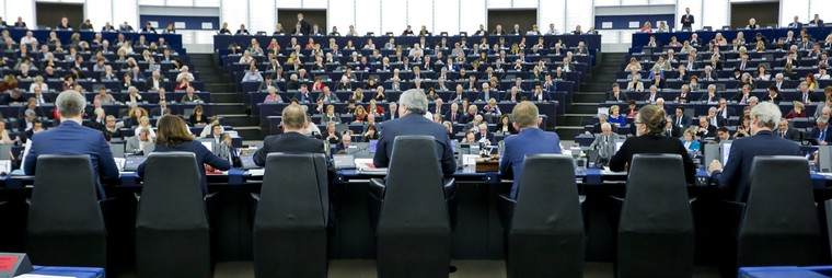 Session plénière au Parlement européen - Crédits : Daina Le Lardic / Parlement européen