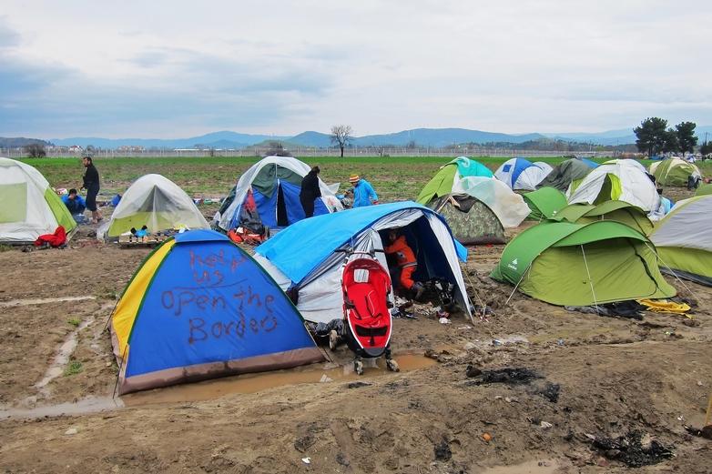 En première ligne de la crise migratoire depuis 2015, la Grèce craint de voir affluer les réfugiés depuis l'ouverture des frontières turques. Ici, l'ancien camp de réfugiés d'Idomeni, au nord du pays - Crédits : Jim Black / Pixabay