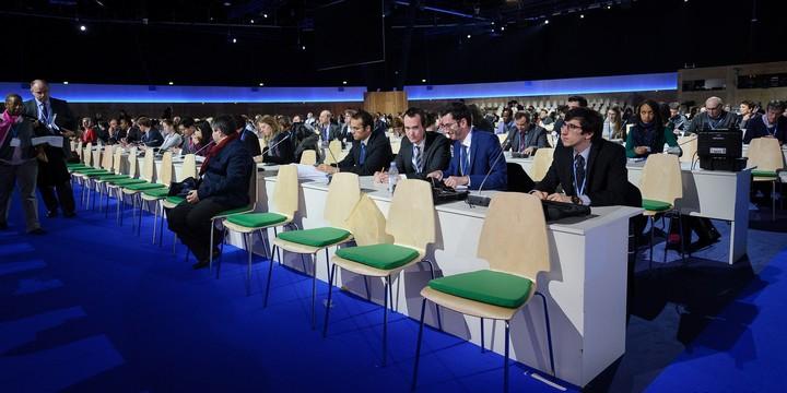 Salle Loire, lors de la COP21