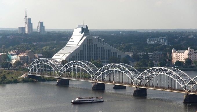 Bibliothèque nationale Riga