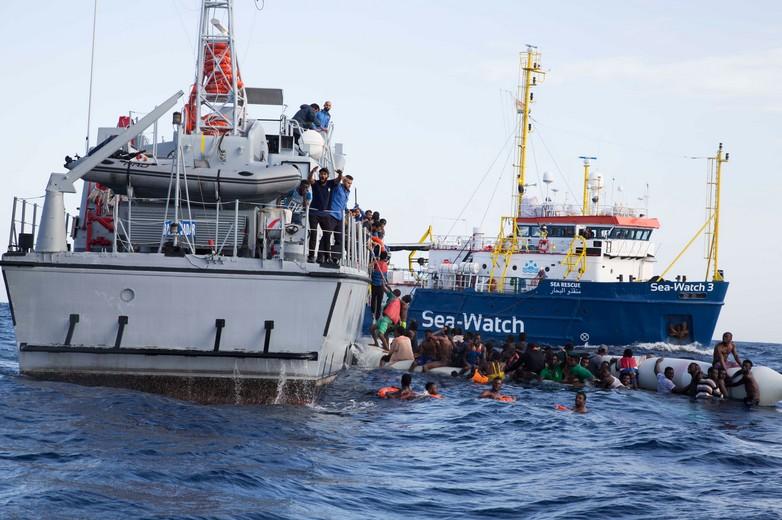 Navire humanitaire Sea Watch 3