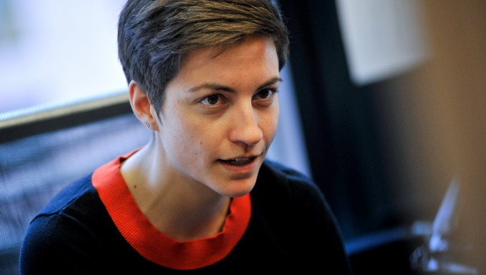 Ska Keller, candidate des Verts pour la présidence de la Commission européenne
