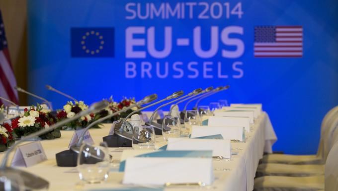 Sommet UE-USA 26 mars 2014 énergie gaz Ukraine TTIP accord partenariat libre-échange Obama Barroso Van Rompuy