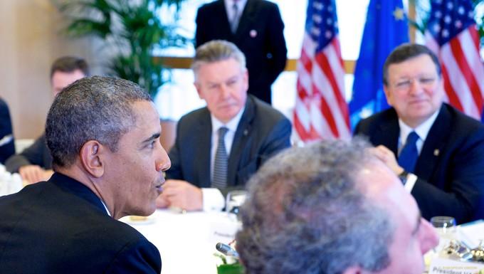Sommet UE-USA 26 mars 2014
