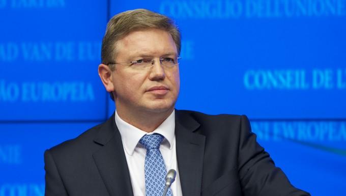 Stefan Füle, commissaire européen à l'élargissement et à la politique européenne de voisinage