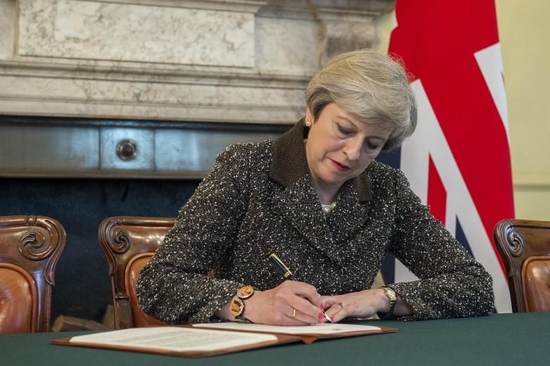 Theresa May, Première ministre du Royaume-Uni