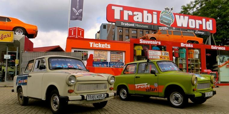 Musée de la Trabant à Berlin, marque de l'Ostalgie - Crédits : Flickr S Kaya CC BY-NC-ND 2.0