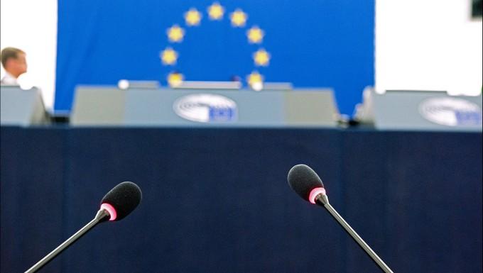 Tribune au Parlement européen