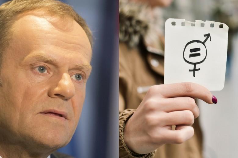 Brexit Femmes Tusk May