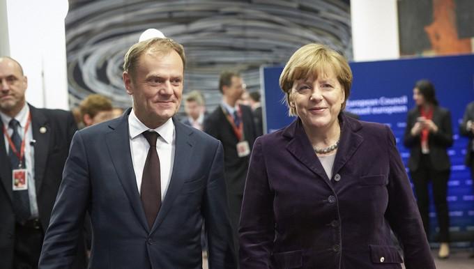 Tusk Merkel