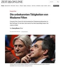 Article de Die Zeit, 25 janvier 2017