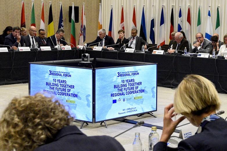 Réunis à Barcelone en 2018 à l'occasion des 10 ans de l'UpM, ses membres ont dressé un bilan de la coopération dans l'espace euro-méditerranéen et mis en évidence les domaines qui exigent de