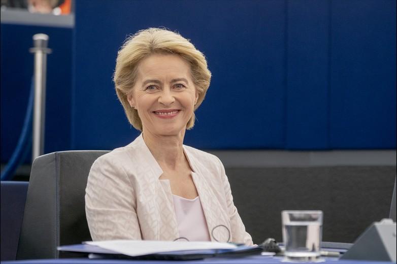 Ursula von der Leyen, le 16 juillet