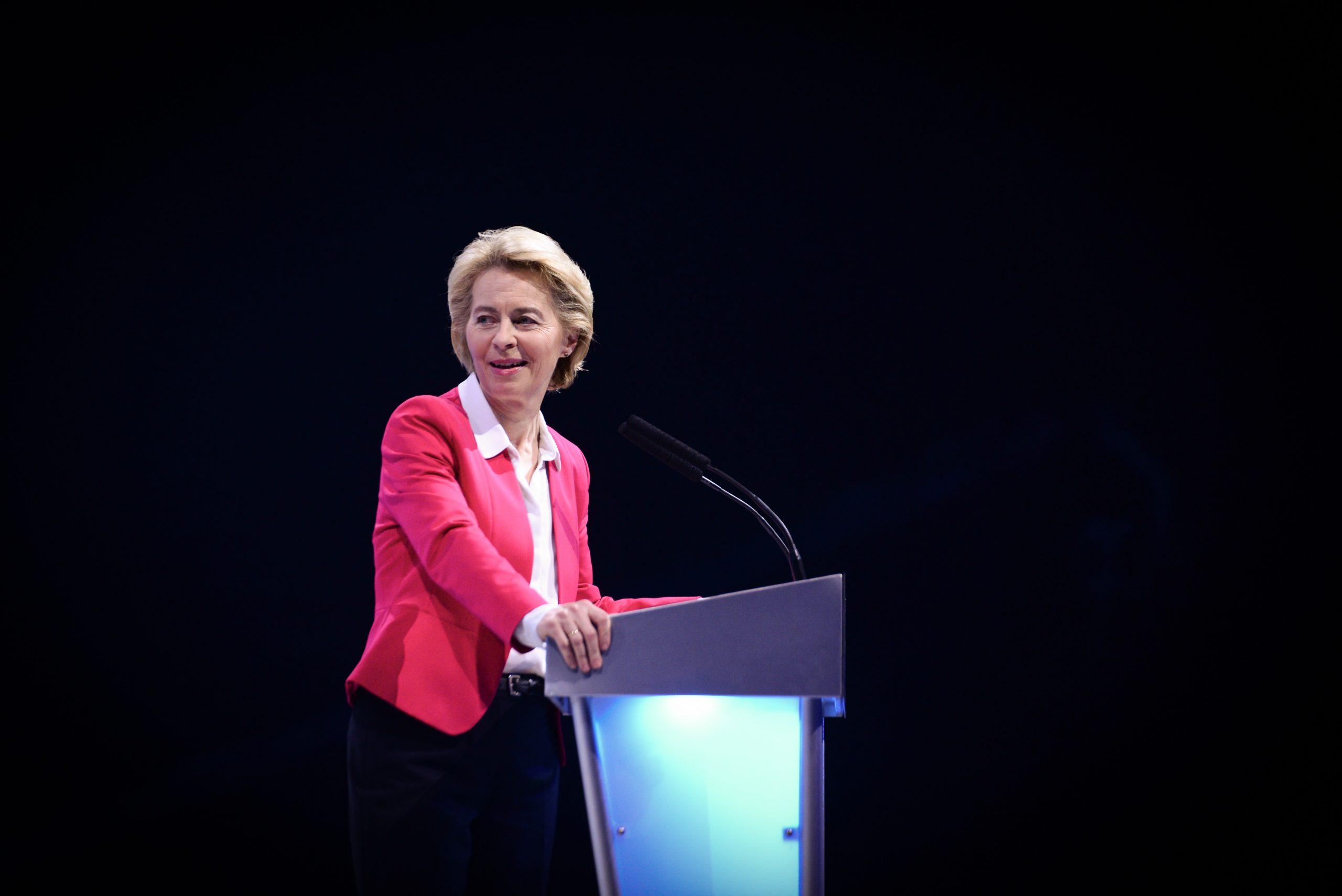 La présidente de la Commission européenne, Ursula von der Leyen, a fait du pacte vert européen la priorité de son mandat - Crédits : European People's Party / Flickr CC BY 2.0