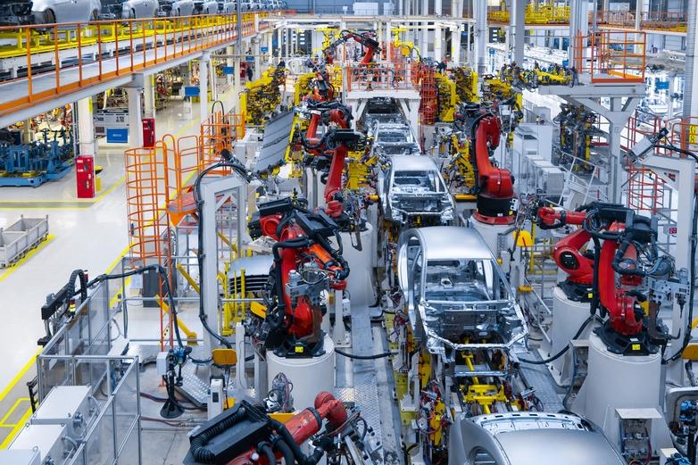 Usine d'assemblage automobile - Crédits : TRAIMAK.BY / iStock