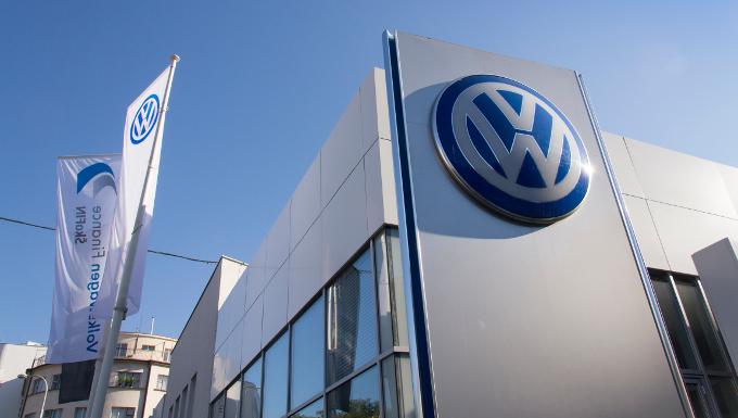 Concession Volkswagen à Prague